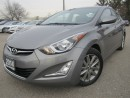 Used 2014 Hyundai Elantra GLS-Sunroof-Rear camera-Alloys for sale in Mississauga, ON