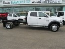 Used 2016 Dodge Ram 5500 HD Crewcab 4x4 diesel with goose neck for sale in Richmond Hill, ON
