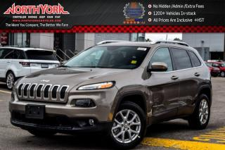 New 2017 Jeep Cherokee North|Sat Radio|Bluetooth|8.4