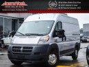 Used 2016 RAM Cargo Van ProMaster High Roof|Backup Cam|3 Passenger|Bluetooth|AC|Sat Radio for sale in Thornhill, ON