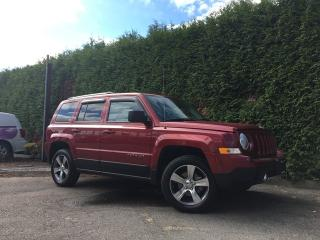 Used 2017 Jeep Patriot HIGH ALTITUDE 4X4 for sale in Surrey, BC