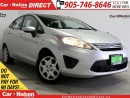 Used 2011 Ford Fiesta SE| HEATED SEATS| LOCAL TRADE| for sale in Burlington, ON