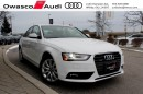 Used 2014 Audi A4 2.0 Komfort W/ Heated Seats & Mirrors for sale in Whitby, ON