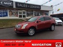 Used 2014 Cadillac SRX Luxury   NAVIGATION, SUNROOF, REAR CAMERA, CUE! for sale in St Catharines, ON