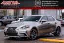 Used 2014 Lexus IS 250 AWD|F-Sport|Premium Pkg|Nav|Sunroof|Leather|HTD Frnt Seats|18