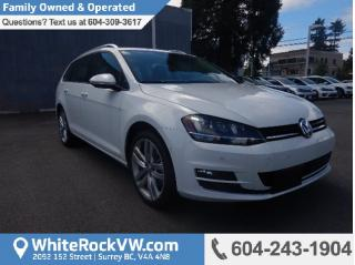 New 2017 Volkswagen Golf Sportwagen 1.8 TSI Highline NAVIGATION SYSTEM, LEATHER SEATS & BLUETOOTH for sale in Surrey, BC