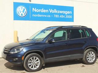 Used 2017 Volkswagen Tiguan WOLFSBURG EDITION 4MOTION AWD - LEATHER / HEATED SEATS / VW CERTIFIED for sale in Edmonton, AB