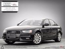 Used 2013 Audi A4 A4 2.0 TFSI Tiptronic quattro  AUDI CERTIFIED! for sale in Halifax, NS