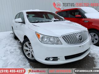 Used 2012 Buick LaCrosse Convenience | LEATHER | CAM for sale in London, ON