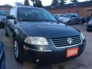 Used 2004 Volkswagen Passat GLS Low KM 107K Leather Sunroof Alloys MINT Cond. for sale in Scarborough, ON