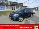 Used 2012 Ford Explorer Limited   NAVIGATION, CAMERA, HEATED LEATHER, SUNROOF! for sale in St Catharines, ON