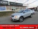 Used 2010 Cadillac SRX Luxury   AWD, NAVIGATION, DUAL DVDS, ROOF, CAMERA! for sale in St Catharines, ON