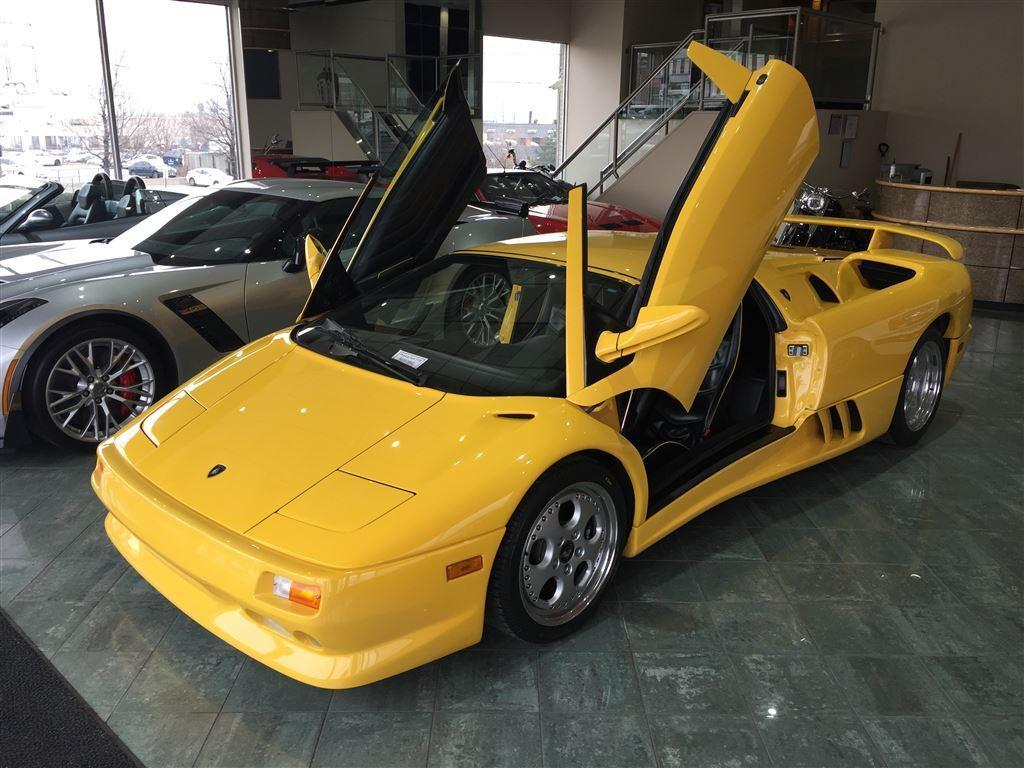 Used 1996 Lamborghini Diablo Vt Roadster Rare Sold For Sale