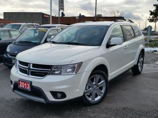 Used 2013 Dodge Journey Crew/DVD for sale in Brampton, ON