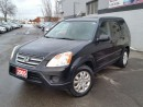 Used 2005 Honda CR-V EX-L for sale in Brampton, ON