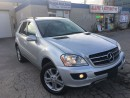 Used 2007 Mercedes-Benz ML 350 3.5L w/WARRANTY_LEATHER_SUNROOF_ for sale in Oakville, ON