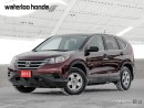 Used 2013 Honda CR-V LX for sale in Waterloo, ON