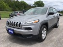 Used 2016 Jeep Cherokee Sport - 4x4 - Low Kms for sale in Norwood, ON