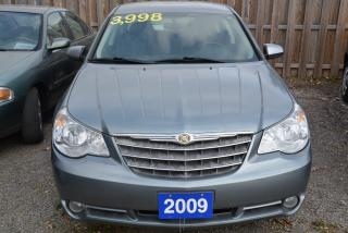 Used 2009 Chrysler Sebring Touring, V-6, automatic, air conditioning for sale in Hornby, ON