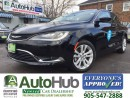 Used 2016 Chrysler 200 LIMITED EDITION | BLUETOOTH| LOW KM| IMMACULATE CO for sale in Hamilton, ON