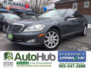 Used 2007 Mercedes-Benz S-Class S 550-4MATIC-NAVIGATION-NEW TIRES for sale in Hamilton, ON