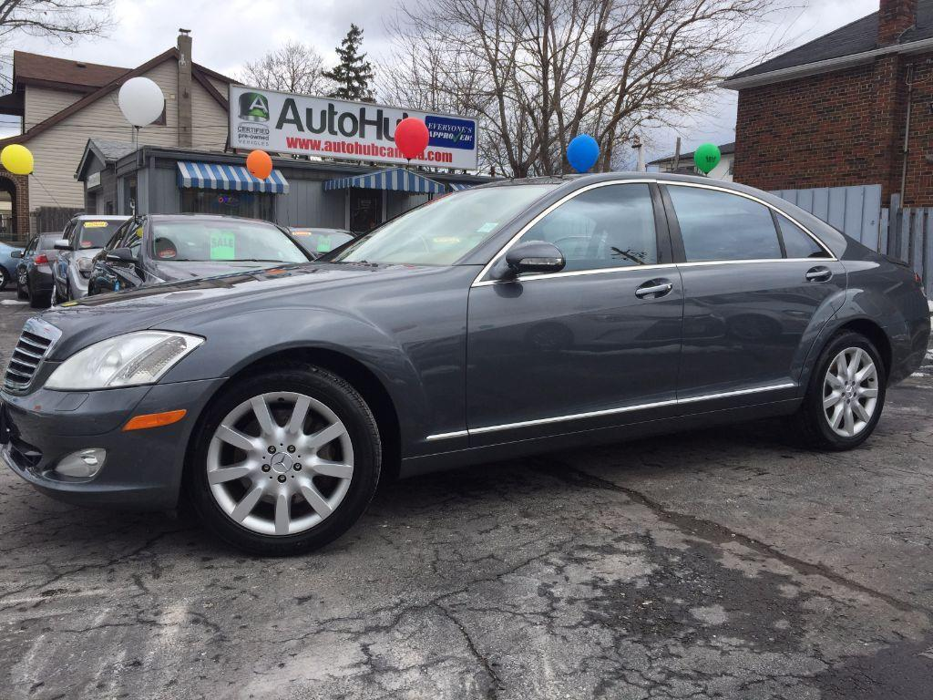 Used 2007 mercedes benz s class s 550 4matic navigation for 2007 mercedes benz s class for sale