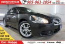 Used 2012 Nissan Maxima SV| SUNROOF| BLUETOOTH| LEATHER| HTD SEATS| for sale in Mississauga, ON