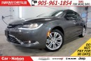Used 2016 Chrysler 200 LIMITED| REAR CAM| HEATED SEATS| BLUETOOTH & MORE| for sale in Mississauga, ON