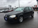 Used 2010 Volkswagen City Golf CITY 2.0L 5-SPEED  LOW KMS. CALL BELLEVILLE @ 1-88 for sale in Picton, ON