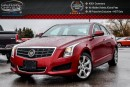 Used 2014 Cadillac ATS AWD|Sunroof|Bluetooth|Leather|Heated Front Seats|Keyless Go|17