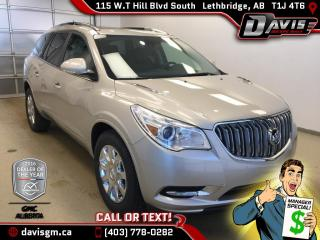 New 2017 Buick Enclave Premium-Moonroof, Heated/Cooled Leather, Colour Touch Navigation for sale in Lethbridge, AB