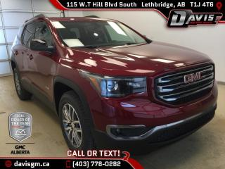New 2017 GMC Acadia SLE-2-Heated Seats, Dual Panel Sunroof, All Terrain package* for sale in Lethbridge, AB