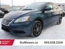 Used 2014 Nissan Sentra SV, Low Kms, Extra set of rims for sale in Edmonton, AB