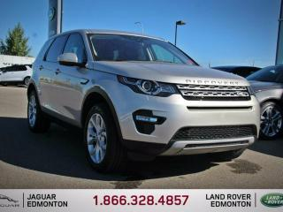 Used 2017 Land Rover Discovery Sport HSE - CPO 6yr/160000kms manufacturer warranty included until March 30, 2023! CPO rates starting at 2.9%! Locally Owned and Driven | Executive Demo | 3M Protection Applied | Upgraded Navigation | Back Up/Front Camera | Reverse Traffic/Blind Spot/Clos for sale in Edmonton, AB