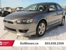 Used 2013 Mitsubishi Lancer Sunroof, 10th Anniversary Ed. for sale in Edmonton, AB