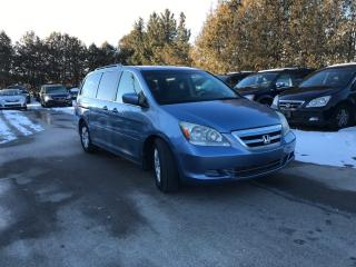 Used 2005 Honda Odyssey EX 8 PASSENGERS for sale in Waterloo, ON