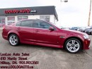 Used 2009 Pontiac G8 Leather Sunroof Certified 2YR Warranty for sale in Milton, ON