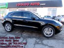 Used 2015 Porsche Macan S Turbo AWD Navigation Camera Certified Warranty for sale in Milton, ON