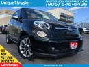 Used 2015 Fiat 500 Lounge | NAVI | PANO ROOF | LEATHER | ALLOYS | for sale in Burlington, ON