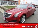 Used 2015 Cadillac ATS 2.0 Turbo Luxury   SUNROOF, LEATHER, CUE, CAMERA! for sale in St Catharines, ON