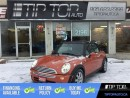 Used 2007 MINI Cooper CONVERTIBLE Base ** Leather, Heated Seats, FUN ** for sale in Bowmanville, ON