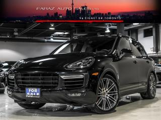 Used 2015 Porsche Cayenne TURBO|SPORT CHRONO|BLINDSPOT|NAVI|REAR CAM for sale in North York, ON