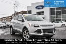 Used 2013 Ford Escape SE - BLUETOOTH - ROOF RAILS - HORIZONTAL CROSS BARS - REAR PARKING AID SENSORS for sale in Ottawa, ON