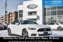 Used 2016 Ford Mustang V6 - BLUETOOTH - REVERSE PARK ASSIST - CLOTH CONVERTIBLE ROOF for sale in Ottawa, ON