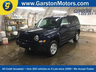Used 2015 Jeep Patriot NORTH EDITION*4 X 4*KEYLESS ENTRY*POWER WINDOWS LOCKS*POWER HEATED MIRRORS*FOG LAMPS*CD/MP3 W/AUX INPUT* for sale in Cambridge, ON