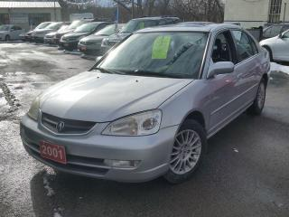 Used 2001 Acura EL Premium,,cert&etested for sale in Oshawa, ON
