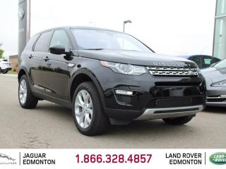 Used 2017 Land Rover Discovery Sport HSE - CPO 6yr/160000kms manufacturer warranty included until May 29, 2023! CPO rates starting at 2.9%! Locally Owned and Driven | Executive Demo | No Accidents | 3M Protection Applied | Upgraded Navigation Screen | Front/Rear Camera System | Parking for sale in Edmonton, AB