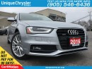 Used 2016 Audi A4 2.0T Komfort Plus| LEATHER| AWD| SUNROOF| for sale in Burlington, ON
