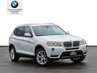 Used 2014 BMW X3 xDrive28i 6Yrs/160KM Warranty for sale in Markham, ON