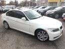 Used 2011 BMW 3 Series 323i/AUTOAIR/LEATHER/ROOF/ALLOYS/CLEAN CAR PROOF for sale in Scarborough, ON